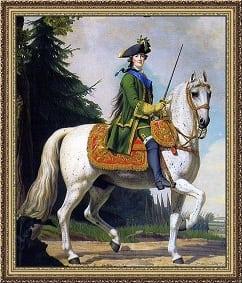 Tableau de Catherine II le jour de son coup dEtat, le 28 juin 1762 ...